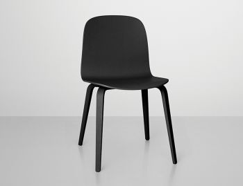 Visu Chair with Wood Seat & Base by Mika Tolvanen for Muuto  image