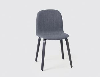 Visu Chair Upholstered with Wood Base by Mika Tolvanen for Muuto  image
