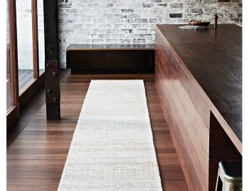 Drift Weave Natural and White Hall Runner 4m x 0.8m by Armadillo & Co image