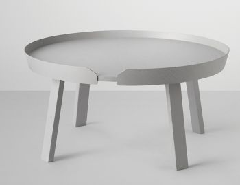 Grey Around Coffee Table Large by Thomas Bentzen for Muuto image