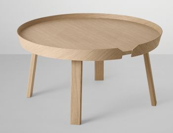 Oak Around Coffee Table Large by Thomas Bentzen for Muuto image