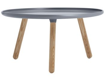 Grey Tablo Table Large by Nicholai Wiig Hansen for Normann Copenhagen image