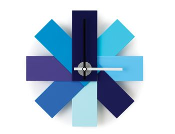 Blue Watch Me Wall Clock by Rasmus Gottliebsen for Normann Copenhagen image