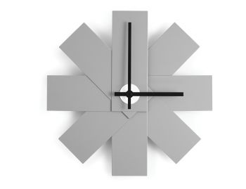 Grey Watch Me Wall Clock by Rasmus Gottliebsen for Normann Coopenhagen image