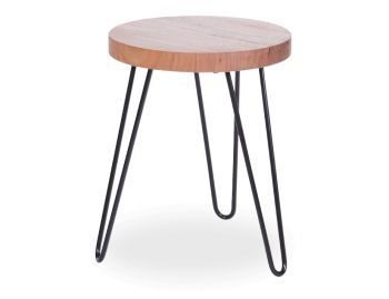 Bernie Low Stool in Vic Ash Custom Made in Melbourne image