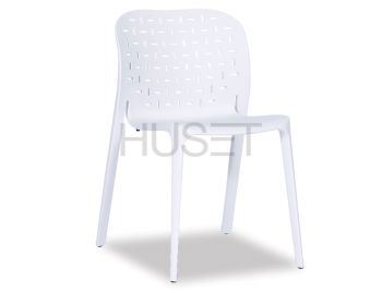 White A-Buso Stackable Chair by Favaretto & Partners for OOLand image