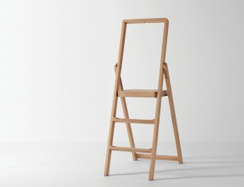 Oak Step Stepladder by Karl Malmvall for Design House Stockholm image