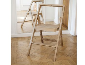 Oak Mini Stepladder by Karl Malmvall for Design House Stockholm image