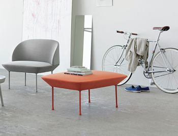 Oslo Pouf by Anderssen & Voll for Muuto image