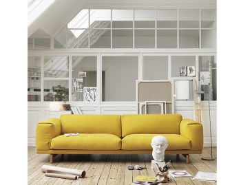 Rest 2 Sofa Seater by Anderssen & Voll for Muuto image