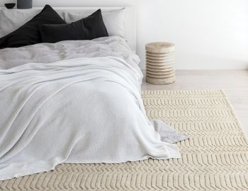 Savannah Natural Berber Knot Rug by Armadillo & Co. image