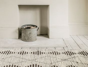 Zulu Natural/Shale Berber Knot Rug by Armadillo & Co.  image