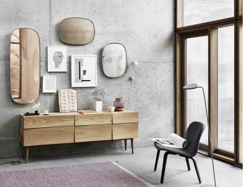 Framed Small Mirror by Anderssen & Voll for Muuto image