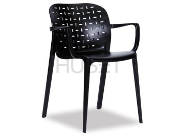Black A-Buso Arm Chair by Favaretto & Partners for OOLand image