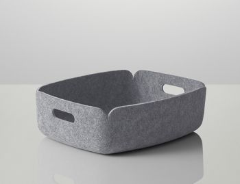 Grey Restore Tray by Mika Tolvanen for Muuto image