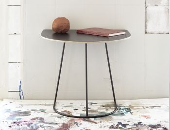 Airy Half Size Side Table by Cecilie Manz for Muuto image