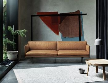 Outline Leather Sofa by Anderssen & Voll for Muuto image