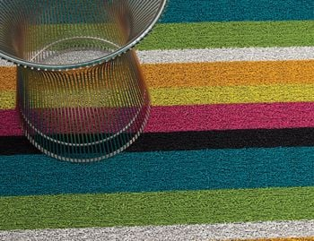 Shag Multi Bold In/Outdoor Floor Mat by Chilewich image