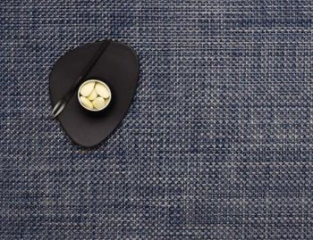 Placemat Basketweave in Denim by Chilewich image