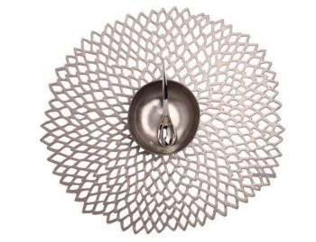 Placemat Dahlia in Gunmetal by Chilewich image