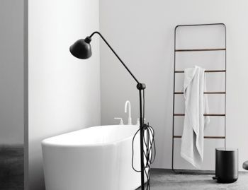 Towel Ladder in Black by Norm Architects for Menu image