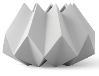 Folded Vase in Ash by Amanda Betz for Menu image