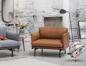 Outline Leather Chair by Anderssen & Voll for Muuto image
