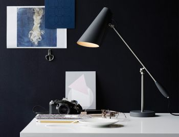 Birdy Table Lamp Grey Metallic by Birger Dahl for Northern  image