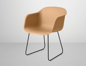 Fiber Armchair with Sled Base by Iskos Berlin for Muuto image