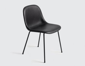 Fiber Side Chair Upholstered with Tube Base by Iskos Berlin for Muuto image