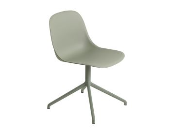 Fiber Side Chair with Swivel Base by Iskos Berlin for Muuto image