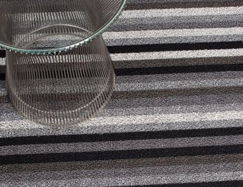 Shag Mineral Even Stripe In/Outdoor Floor Mat by Chilewich image