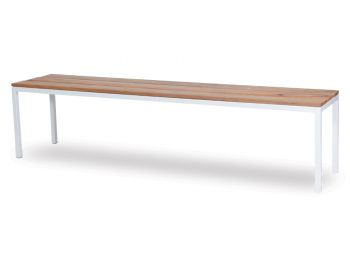 Liam Outdoor Bench Seat Solid Spotted Gum - Made in Melbourne image