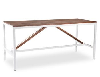 Cape Outdoor High Bar Table Solid Spotted Gum - Made in Melbourne image