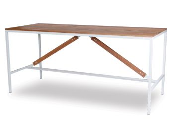 Liam Outdoor High Bar Table Solid Spotted Gum - Made in Melbourne image