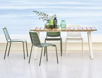 Copenhagen Teak Outdoor Extenable Table by Strand & Hvass for Cane-line image