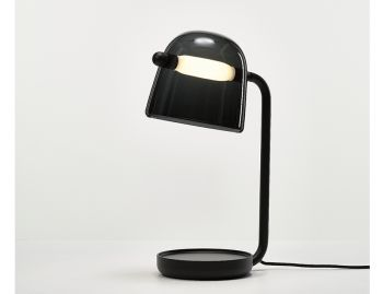 Mona Table Lamp in Black by Lucie Koldova for Brokis image