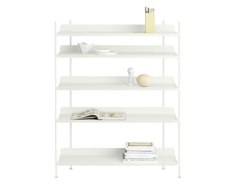 Compile Shelving System in White by Cecilie Manz for Muuto image