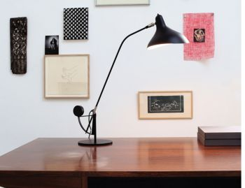 Mantis BS3 Table Lamp Black Satin by Bernard Schottlander image