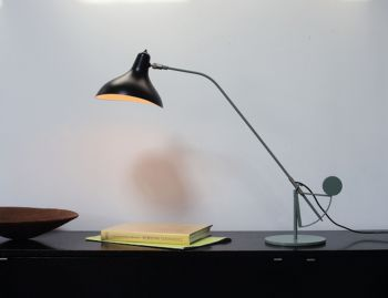Mantis BS3 Table Lamp Grey-Green Satin by Bernard Schotlander  image