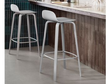 Visu Bar Stool by Mika Tolvanen for Muuto image