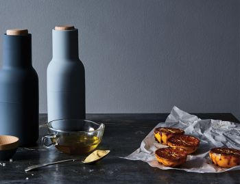 Bottle Grinder Set Blues by Norm Architects for Menu image