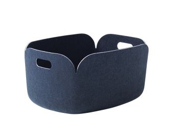 Midnight Blue Restore Basket by Mika Tolvanen for Muuto image