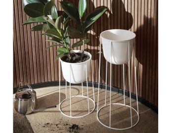 Wire Planter in White by Norm Architects for Menu image