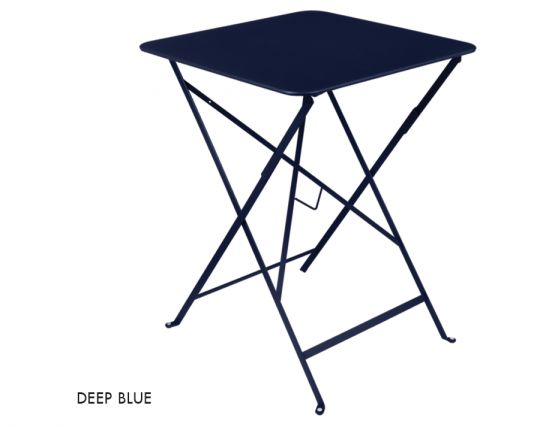 Deep Blue Bistro Table