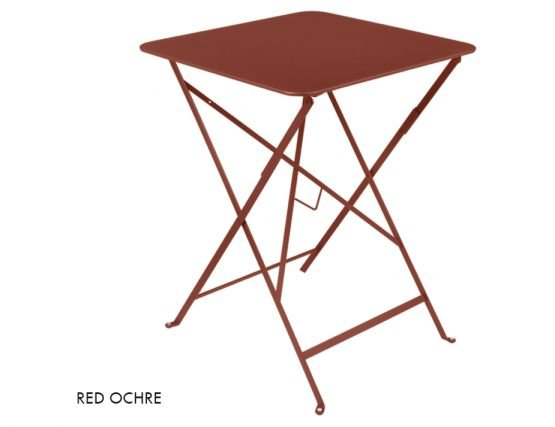 Red Ochre Bistro Table57x57