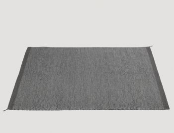 Ply Rug Dark Grey by Margrethe Odgaard for Muuto image