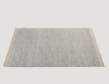 Ply Rug Black/White by Margrethe Odgaard for Muuto image