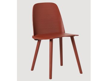 Nerd Chair Dark Red by David Geckeler for Muuto image