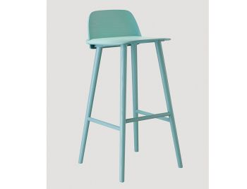 Nerd Bar Stool Petroleum by David Geckeler for Muuto image